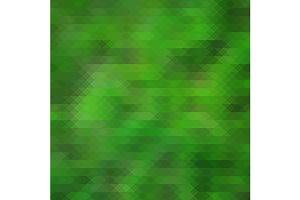 Green triangular vector background