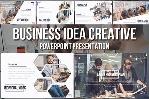 Business Idea Creative Presentation