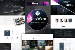 TimeWarp - Wordpress Future Theme