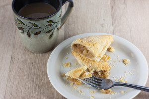 Coffee and Apple Turnover