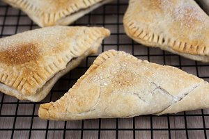 Apple Turnovers on Cooling Rack