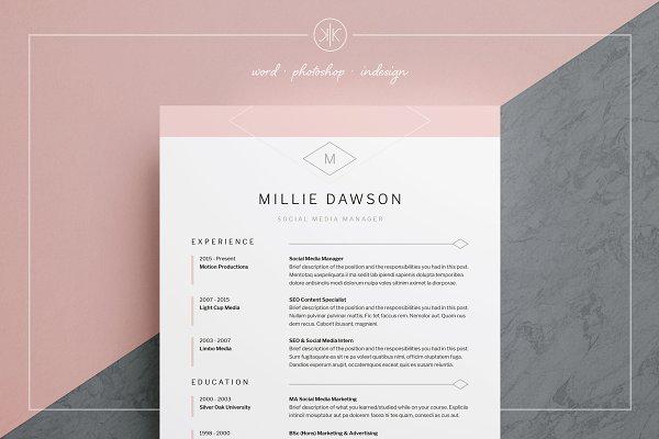 Resume/CV | Millie