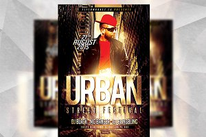 Urban Street - Flyer Template