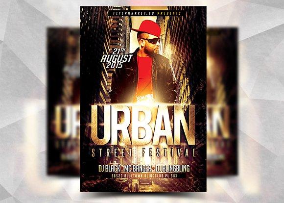 Urban Street - Flyer Template