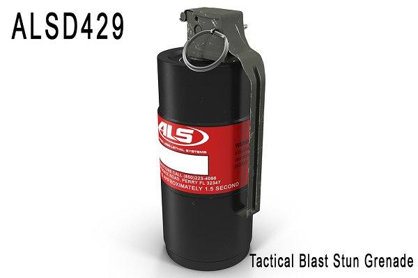 3D Weapons - ALSD429 Tactical Blast Stun Grenade
