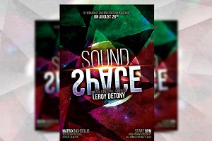 Sound Space - Flyer Template