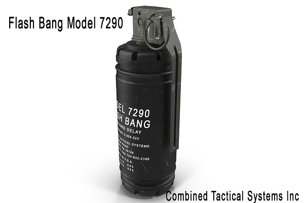 3D Weapons - Flash Bang Model 7290