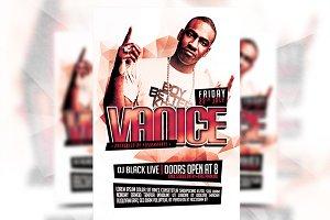 Vanice - Flyer Template