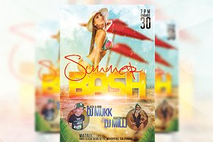 Summer Bash - Flyer Template