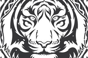 Tiger Vector + frame