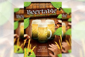 Beertable Summer - Flyer Template