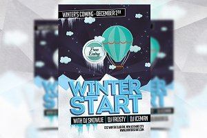 Winter Start - Flyer Templates