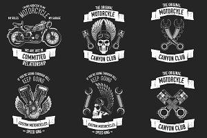 Motorcycle logo creator