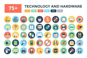 75+ Technology and Hardware Icons
