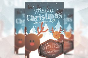 Merry Christmas - Flyer Template