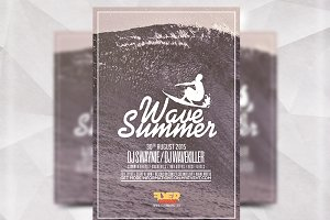 Wave Summer - Flyer Template