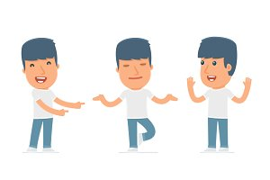 100 poses of character Activist