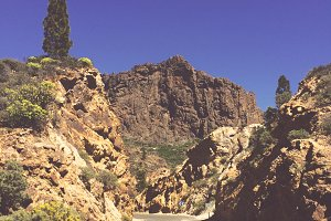 Wild West Landscape of Gran Canaria