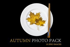 Autumn photo pack
