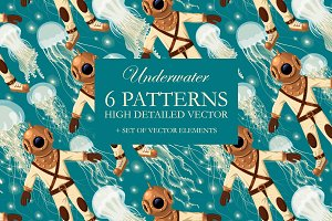 Underwater Seamless Patterns