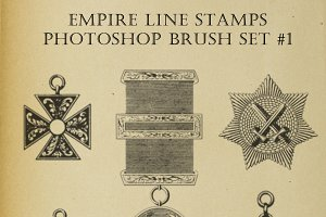 PS Brush set - Masonic symbols