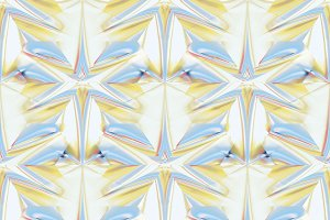 Color Shine Geometry Pattern