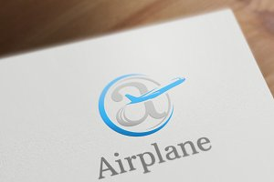 Airplane Logo Template