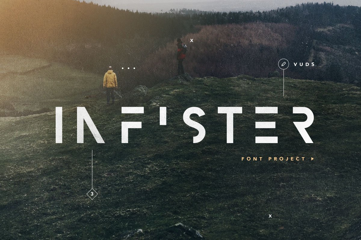 infister type sans serif fonts creative market