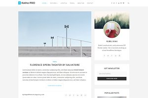 Kotha PRO - WordPress Blog Theme
