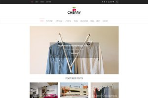 Cherry - WordPress Blog Theme