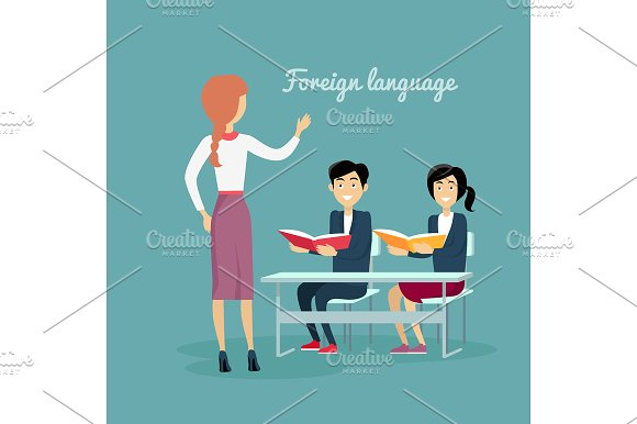 Learning a Foreign Language in Illustrations