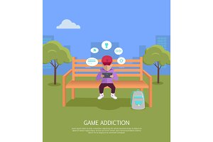 Game Addiction Banner
