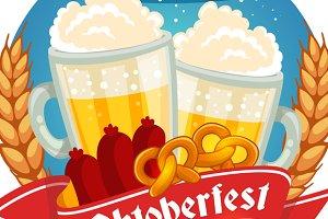 Set of Oktoberfest posters