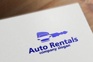Auto Rentals Logo Template