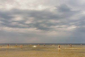 Baltic beach. Latvia