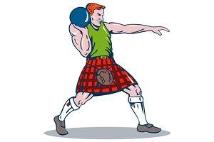 Scottish Playing Shotput