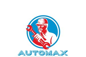 Automax Automotive Parts Supply Logo