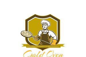 Gold Oven Gourmet Pizzeria Logo