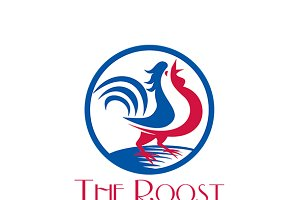 The Roost Gourmet Grill Logo
