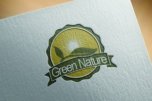 4 Green Ecology Nature Logo