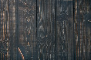 Old dark scorched wood texture