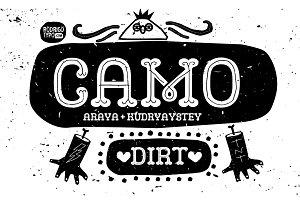CAMO DIRT ( ALL PACK)