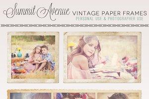 Divine Vintage Paper Frames
