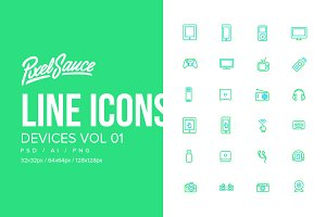 Device Icons Vol 01