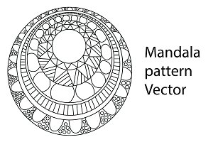 Mandala in vector