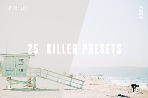 25 Killer Lightroom Presets