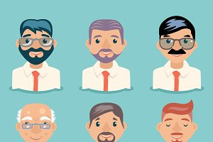 Businessman Avatars