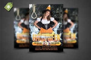 Halloween Flyer Template 7