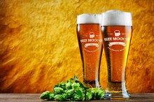 Beer Logo Mock-up #3