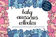 Baby accessories collection